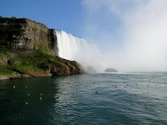 Horseshoe Falls (kimpossible pics) Tags: newyork nature water landscape outdoors niagarafalls niagara falls waterfalls rivers horseshoefalls niagarariver