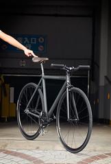 F550 Custom : Fugazi (Factory Five) Tags: china bike bicycle grey track factory shanghai 5 five gear son dia h boutique thomson plus fixed fixie pista matte brooks cinelli kagero compe