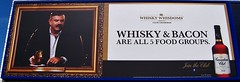Whisky & Bacon Are All 5 Food Groups (Will S.) Tags: usa signs ny newyork sign america advertising bacon border ad whisky mypics dutyfree lewiston canadianclub