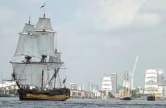 Tall Ships (4) @ River Thames 09-09-14 (AJBC_1) Tags: riverthames london tallship sailingship sailroyalgreenwich2014 paradeofsail shtandart thalassa lothlorien morgenster dlrblog ©ajc ship boat vessel england unitedkingdom uk ©ajc ajbc1