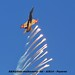 Swiss Air Force McDonnell Douglas FA-18C Hornet flares