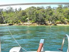 DSCF4527 Bradley's Head waterfront. (Boat bloke) Tags: coast boat waterfront sydney australia sydneyharbour