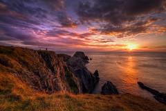 Sunset at Malin Head. (Ronan.McLaughlin) Tags: sunset home landscape nikon atlantic donegal malinhead inishowen nikond3 nikon1424mm ronanmclaughlin wildatlanticway
