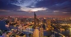 Night Bangkok (kordsub.rodsak) Tags: city night landscape bangkok d7000
