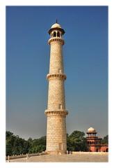 Agra IND - Taj Mahal Minarett 02