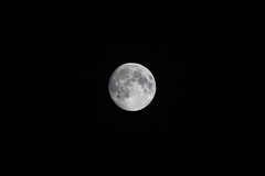 Moon (Felafel Squarcia) Tags: sardegna light sky moon white black nature night dark space side atmosphere full craters spots maddalena infinite phases cirlce