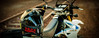 The hybrid helmet mix between off road and street bike (Tri Nguyen | P h o t o g r a p h y) Tags: nikon helmet engine motorcycle suzuki drz400sm 400cc d700 supermotor fix50