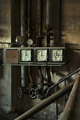 gauges (Mikko Miettinen) Tags: old urban abandoned rust industrial factory availablelight decay empty naturallight dirt aged dust gauge deserted corrosion gauges obsolete postapocalyptic forlon