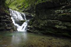 Waterfall (Sara Groblechner) Tags: nature cascata folgaria alpecimbra