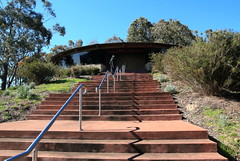 Sugarloaf reservoir Lookout and steps (Lesley A Butler) Tags: architecture steps australia victoria lookout sugarloafreservoir christmashills 2014831
