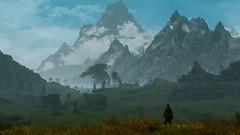 Distance (modd3r86) Tags: nature scenery random screenshots videogames gaming fantasy rpg bethesda enb auriel skyrim tesv