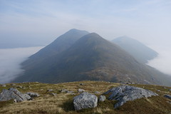 Sgurr Mor, Beag and Fhuarain, 12th September '14 (Hazel Strachan) Tags: mountains scotland munros arkaig