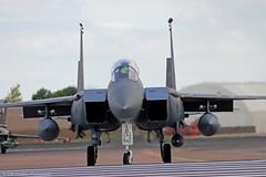 USAF F15 91-335/LN at Fairford EGVA 14/07/14 (IOM Aviation Photography) Tags: usaf fairford f15 egva 140714 91335ln