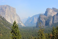 Yosemite Valley (ST33VO) Tags: california park trees usa mountains nature america forest landscape us view cathedral awesome united tunnel national valley yosemite granite vista states elcapitan glacial elcap