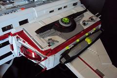 Aurora Exterior Detail Engine (LegoSpaceGuy) Tags: brick ship lego space scifi spaceship sci starship moc classicspace