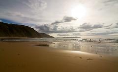 1868 - Campelo (PauloFM) Tags: sunset sea sky espaa beach lights luces spain bright playa galicia cielos campelo ferrol valdovio meirs ferrolterra