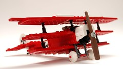 lego red airplane instructions