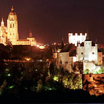 panoramica catedral alcázar Noche
