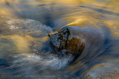 Finding Lions (Michela_Griffith) Tags: light painterly motion water river golden iceland lion skaftafell