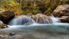 acqua azzurra, acqua chiara (Luciano Silei - sky7) Tags: water waterfall longexposure bordaglia carnia lucianosilei canon7d sigma1020 cascata autumn autunno naturalmente