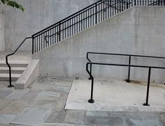 Vergelnderung / In Banistan (bartholmy) Tags: richmond va virginia shockoeslip gelnder banister beton concrete treppe stufen stair steps bltter leaves minimal minimalism minimalismus minimalistisch abstrakt abstract rust rost
