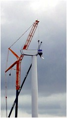 Things to come. (brian.batters (B-C-B)) Tags: porthcawl newtondown windturbine wind windfarm thebeacons