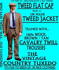the Country Tuxedo wear tweed 4 (Ban Long Line Ocean Fishing) Tags: countrytuxedo tweed tweedjacketphotos tweeds tweedjacket tie twill texture tweedcoat trousers classic clothing canon coat country christchurch cavalrytwill cavalry nz newzealand napier nelson wellington blazer bloke guy cap clothes tweedcap flatcap scottish scotland uk british britain english england mens man mensfashion menswear hastings hamilton harris text houndstoothtweedjacket houndstooth harristweeds candid countrytweeds cavalrytwilltrousers coatjacketjacketcoats color retro oldschool old older