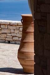 Olive Oil Terracotta Urn (redladyofark) Tags: greece urn olive oil agni corfu peloponnese albania terracotta villa