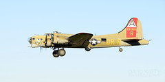 Flaps Down (DJ Witty) Tags: bomber plane boeing warbird avaiation b17 flyingfortress