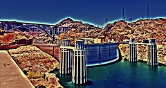 future shock....(HSS) (BillsExplorations) Tags: dam boulderdam hooverdam infrastructure hydroelectricity irrigation archgravitydam coloradoriver nevada arizona california generator artdeco concrete bureauofreclamation lakemead sliderssunday hss