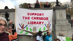 March for libraries, museums and galleries (ijclark) Tags: protest libraries museums galleries demonstration government austerity governmentcuts culture publicservices london unitedkingdom tradeunions demonstrators