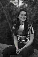 (ramirofmunicoy) Tags: 50mm d5100 nikon retrato miradas portrait 18 f18 buenosaires blancoynegro blackandwhite argentina bw bn woman joven mujer young
