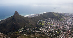 View of Lion's Head and Signal Hill from Table Mountain (amanda & allan) Tags: southafrica capetown tablemountain lionshead signalhill