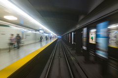 Riding the Metro (michaelTO) Tags: 52weeksthe2016edition weekstartingfridayoctober142016 2016 52 52weeks bloor bloorline blur canada dundaswest dundaswestsubwaystation motion motionblur ontario project52 publictransportation subway subwaystation ttc toronto torontotransitcommission transportation week42theme week422016