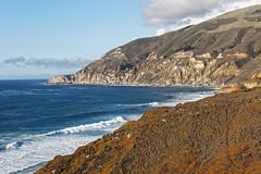Coast Between Big Sur and Carmel (dcstep) Tags: montereypeninsula california usa allrightsreserved copyright2016davidcstephens dxoopticspro112 f4a0340dxo highway bridge pacificcoasthighway pch ocean pacificocean