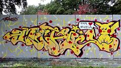 Den haag Graffiti (Akbar Sim) Tags: zuiderpark denhaag thehague agga holland nederland netherlands graffiti akbarsim akbarsimonse
