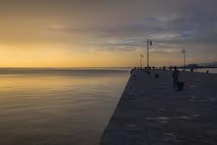 Molo Audace (-BiriS-) Tags: trieste friuliveneziagiulia mare tramonto sunset moloaudace sea fujifilm fuji xe2