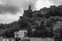 Gjirokastr Castle (Thomas Mulchi) Tags: albania southernalbania worldheritagesite castle hdr bw gjirokaster al gjirokastr