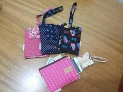 porta celular e carteira (fatimalt) Tags: documento carteira portacelular tecido100algodo