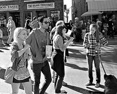 BVCOC 24th Annual Fall Harvest Festival (BabylonVillagePhotos) Tags: bvcoc babylon village chamber commerce annual fall harvest festival people kids fun food rides sales sidewalk street photography black white blackwhite