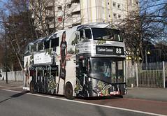 LT510 LTZ1510 (Go Ahead) Camden Town 28.11.16 (Rays Bus Photographs) Tags: goaheadlondon lt510 ltz1510 advertbus coach