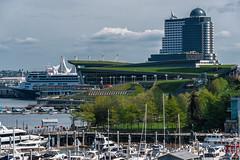 Vancouver, British Columbia, Canada (April 2016) (*Ken Lane*) Tags: can geo:lat=4929237833 geo:lon=12312875748 geotagged vancouvernorthwestendstanleypark westend bc britishcolumbia britishcolumbiacanada canada canadiancity canadianseaportcity cityofvancouver ciudad coastalseaportcity gastown kanada northamerica pacificnorthwest seaportcity stad stadt vancouver vancouverbc vancouverbritishcolumbia vancouverbritishcolumbiacanada vancouvercanada vancouvercity vancouverite westcoast yvr               cityscape buildingsdowntown marina boat ship