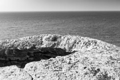 Apollonia National Park (Tel Arsuf) (Vlad Shavit) Tags: apollonia national park tel arsuf israel landscape beach mediterrenian black white bw