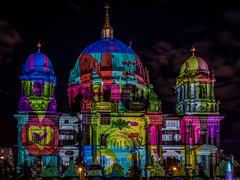 Festival of Light - Berliner Dom (achim-51) Tags: pansonic dmcg5 dom berlinerdom lumix germany de nachtaufhnahme nacht night festivaloflight langzeitbelichtung lumixgvario14140f3556 bunt farbig