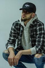 IMG_0910 (sabrinafvholder) Tags: man male hat hipster studio portrait young givenchy sabrinavazholder