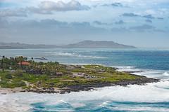 top down (T N K) Tags: hawaii oahu beach makapuu