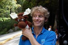 DSC00039 (The Crochet Crowd) Tags: crochetmoose amigurumi moose crochet doll alaska britishcolumbia thecrochetcrowd michaelsellick jeannesteinhilber danielzondervan crochetcruise mooseontheloose