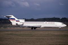 F-GCMX EDI 20-3-1994 (Plane Buddy) Tags: fgcmx boeing 727 727200 aircharter edinburgh egph