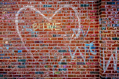 Believe  (Joshua Mellin) Tags: chicagocubs worldseries wrigleyfield chicago grafitti chalk stadium 2016 game 7 game7  graffiti chalkgraffiti w flythew cubswin outside wrigley wrigleyville tickets seats tv baseball mlb hope champions championship 1908 108 fans chicagocubsworldseries worldseries2016