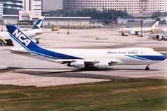 Nippon Cargo Airlines | Boeing 747-200F | JA8168 | Hong Kong Kai Tak
